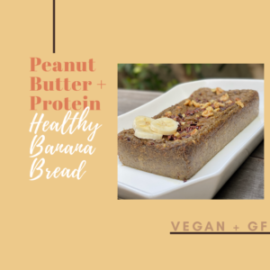 healthy vegan banana bread