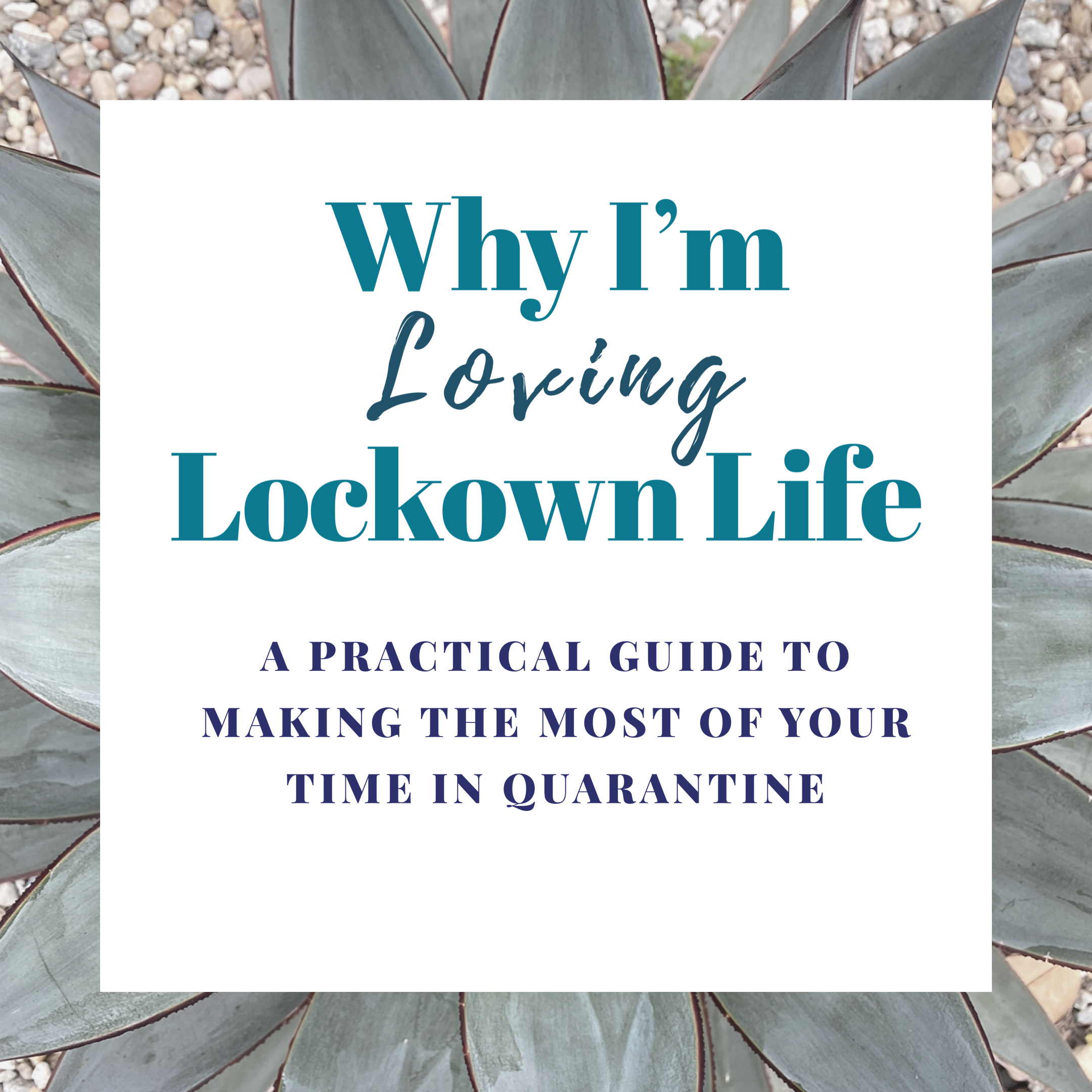 Why I am Loving Lockdown Life (& how you can too!)